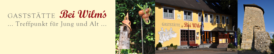 Gaststätte Bei Wilms Treffpunkt für Jung und Alt